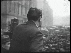 Michael Collins speech gif - Dublin, 1922 Irish Independence, Semitic Languages, Blue Green Eyes, Michael Collins, Irish Quotes, Ireland Homes, Al Capone, Historical Photos, Ireland 1916