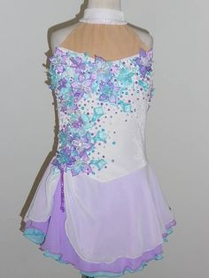 CUSTOM MADE TO FIT, LOVELY FIGURE  ICE SKATING DRESS  | Sporting Goods, Winter Sports, Ice Skating | eBay!