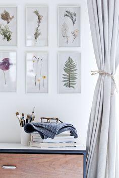 simple nature prints