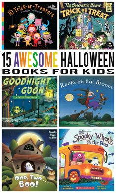 4 Easy Steps For Developing A Sunroom 15 Awesome Halloween Books For Kids Halloween Books For Kids, Halloween Activities, Holidays Halloween, Halloween Themes, Halloween Crafts, Halloween Decorations, Activities For Kids, Crafts For Kids, Preschool Halloween Party