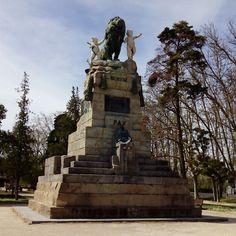 Monumento a la Exposición Hispano francesa de 1908 #zaragoza