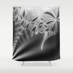 Ultimate Lace Shower Curtain by psycheacrylic Lace Shower Curtains, Bathroom Curtains, Fractal Art, Hooks, Crisp, Tapestry, Usa, Abstract, Space
