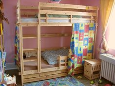 How to Build A Loft Bed For Kids Nicely And Comfortable