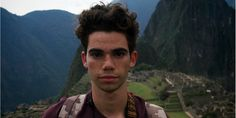Cameron Boyce in Machu Pichu by Booboo Stewart Cameron Boyce, Disney Channel Stars, Disney Descendants, Child Actors, Now And Forever, Rest In Peace, Beautiful Person, Celebs, Celebrities