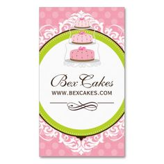 Whimsical bakery business cards bakery business cards bakery whimsical bakery business cards make your own business card with this great design all reheart Choice Image