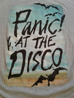 Manhead Panic At The Disco Shirt Gray M Medium brendon urie death of a bachelor #Manhead #GraphicTee