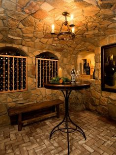 another wine cellar...