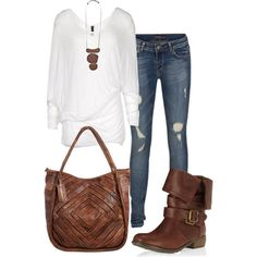 Casual Outfits | ~Leather Necklace~ - Fashionista trends - New Outfits