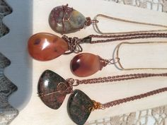 Trendy Marketplace Handcrafted wire wrapped small stones