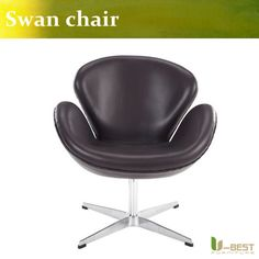 368.00$  Buy now - http://aliox2.worldwells.pw/go.php?t=32718339383 - U-BEST Replica Arne Jacobsen swan chair for dining room living room furniture