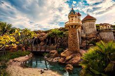 Ariel's (technically Eric's) Castle, Fantasyland, Magic Kingdom, Disney World