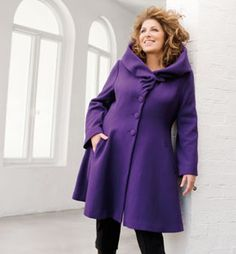 ladies plus size coats | Winter Coat For Your Body Shape | Fashion-n-Beauty-tips