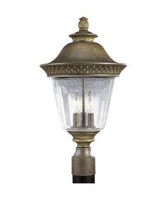 Progress Lighting P5416 Savannah 3 Light Outdoor Post Lamp   Capitol Lighting 1-800lighting.com