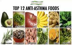 top 12 anti-asthma foods
