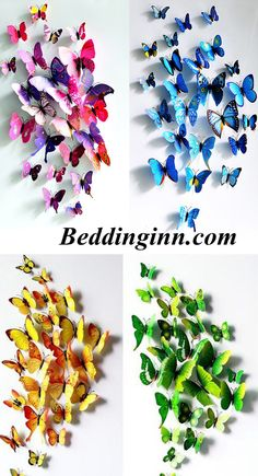 Gorgeous Butterflies Wall Stickers Live a better life, start with Beddinginn http://www.beddinginn.com/product/New-Arrival-Beautiful-and-Cute-Butterfly-Wall-Stickers-10937084.html