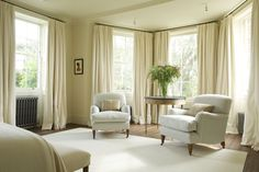 Richmond House | Rose Uniacke Best Interior, Interior Design, Interior Architecture, Pillow Fabric, Luxury Decor, Rose Uniacke, Drawing Room, White Curtains, Unique Lamps