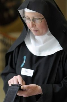 'I sometimes think I've taken a fourth vow, of obedience to my Mac.' Thus spake Catherine Wybourne, the Digital Nun, and such a cool person!