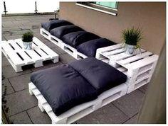 muebles para exteriores palet nature