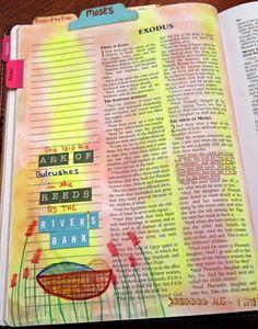 Exodus 2:3   http://melissagross.blogspot.com/2016/10/bible-journaling-inspiration-drawing-vs.html
