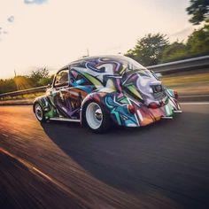 Cool paint job!