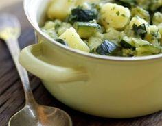 Zucchini and potato stew
