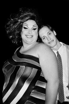 Be Fabulous (Or Else) - Divine and John Waters at the Polyester Party, NYC, 1981.6