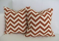 OCTOBER SALE  Throw Pillow Covers  Decorative Rust by skoopehome, $38.00