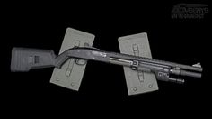 Mossberg 590A1 with all the bells and whistles