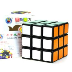 $2.33 (Buy here: http://appdeal.ru/cgjo ) Shengshou Cube 5.7cm Height Black Base Rubik Cube Portable Intelligent Toy for just $2.33