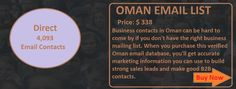 OMAN EMAIL LIST   Ceo Email List