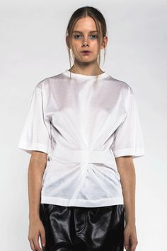 Velcro t-shirt via ANN-SOFIE BACK. Click on the image to see more!