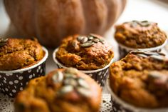 Trying to find a great vegan pumpkin muffin & this might be the one...I'm making it gluten free too. The Best Vegan Pumpkin Muffins!