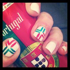 Nail art Portugal!