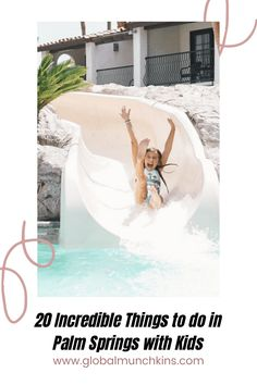 It's the Ultimate Guide to Palm Springs with Kids! Over 20 things to do with the kiddos, plus some delicious places to dine! #PalmSprings #PalmSpringswithkids Best Vacation Destinations, Best Vacation Spots, Disney Vacation Club, Disney Vacations, Disney Trips, Disney Travel, California With Kids, California Travel, Disney World Outfits