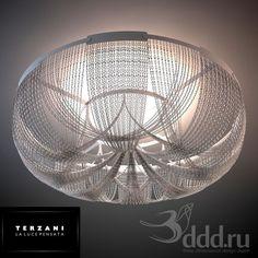 PROFI Terzani / Soscik 3dsMax 2009 и ниже (Vray) : Ceiling light : 3dSky - 3d models