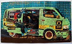 Un'opera di Dennis Muraguri