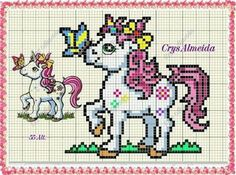 1 million+ Stunning Free Images to Use Anywhere Unicorn Cross Stitch Pattern, Cross Stitch Baby, Cross Stitch Charts, Cross Stitch Designs, Cross Stitch Patterns, Kids Knitting Patterns, Baby Knitting, Crochet Patterns, Diy Embroidery