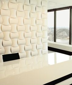 Wovin Wall | Wovin Wall - polypropylene BAD (degrades & lets off carcinogens in light), would have to make sure it's a LEED certified material, ceramic?
