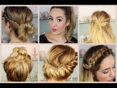Coole einfache frisuren lange haare