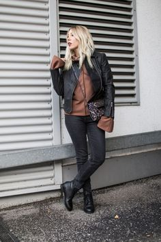 bleed, bleed clothing, korkjacke, vegan, look, ootd, house of sunny, mud jeans, good guys, stella mccartney, leo, black, casual, minimal, streetstyle, aromi, trend, fashion, fall, inspiration, fashion, blog, stryletz