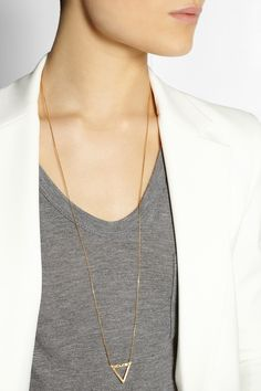 Maria Black | Vixen gold-plated necklace | NET-A-PORTER.COM $190