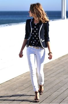 blazer length is good - especially for petite height