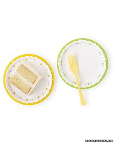 Easy Mother's Day Fun - kids can give mom's special day that extra touch of elegance by using scalloped scissors and punches to decorate paper plates.