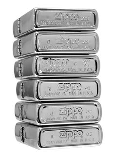 """The markings on the bottom of all Zippo lighters have a special purpose. These are Zippo lighter date codes that signify the year that the lighter was made.   Click the image to learn more about your Zippo Lighter's """"Born On Date"""""""