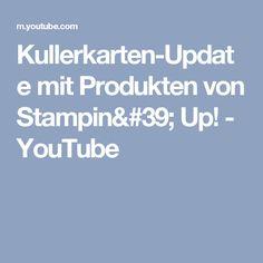 Kullerkarten-Update mit Produkten von Stampin' Up! - YouTube