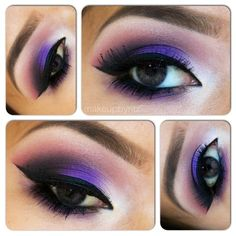 Purple on my eyes to help bring awareness to world Lupus Day! Lupus Day, Glamour Beauty, Purple Rain, Everyday Look, Pretty Face, Favorite Color, Makeup Looks, Fashion Beauty, Hair Makeup