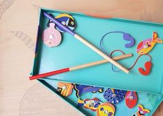 Tableware, Letter Games, Wood Letters, Fishing Games, Wooden Toys, Dinnerware, Tablewares, Dishes, Place Settings