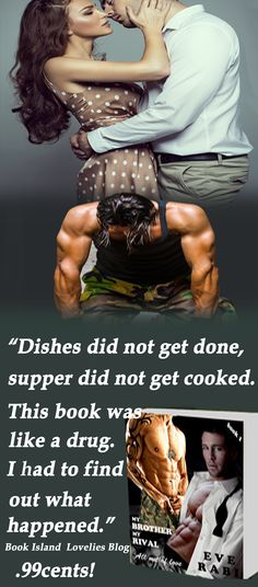 """""""If you have something to do during your day DO NOT start reading this book! 'Cause once you start you won't put it down!"""" Amazon Reviewer. My Brother My Rival #.99 cents http://amzn.to/ImrIBS"""
