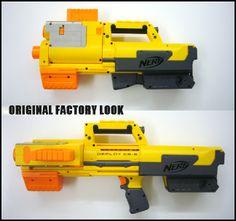 NERF DEPLOY CS-6. original factory look before custom mod.