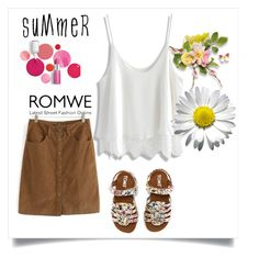 """""""Bez naslova #69"""" by fashion-with-lela ❤ liked on Polyvore featuring TOMS, Chicwish and Clinique"""